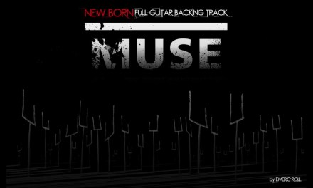 Muse – New Born – Full Guitar Backing Track (HD 1080p)