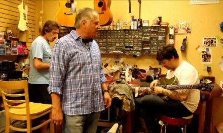 Our Repair Guys Joel and John at Norman's Rare Guitars