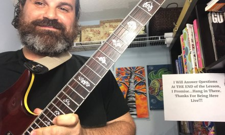Mixolydian and a new guitar
