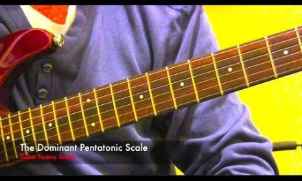 Dominant Pentatonic scale