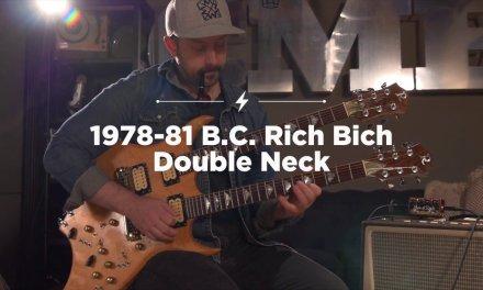 Quick Riffs: 1978-81 B.C. Rich Bich Double Neck Natural