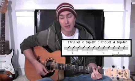 Triplet Rhythms (Guitar Lesson BC-155) Guitar for beginners Stage 5