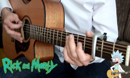 Rick and Morty opening theme – Acoustic fingerstyle guitar version