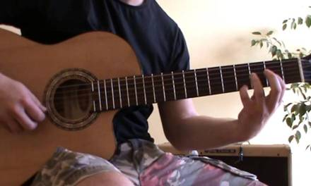 Relaxing Acoustic Guitar Music – guitar lesson – TAB – Morning Sun