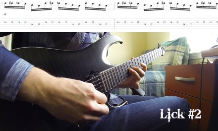 5 BADASS Blues-Rock Shred Licks (With Tabs!)