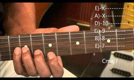 How To Play A Guitar Solo Without Scales Am – Cmaj7 EricBlackmonMusic Tonal Logic