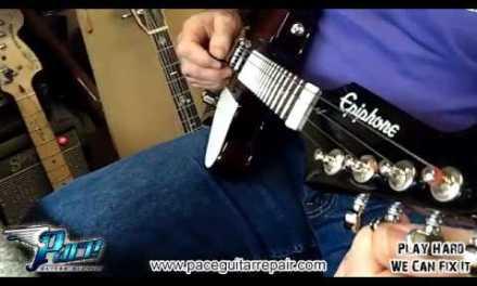 Pace Guitar Repair Mandolin Thunderbird Setup