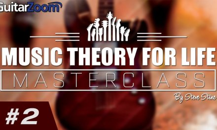 A Simple Trick to Memorize The Major Scale | Steve Stine | Guitar Zoom
