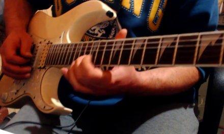 Epic Cinematic Rock Guitar Ballad Backing Track in E Minor – Solo