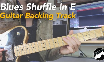 12 Bar Blues Shuffle | Guitar Backing Track | Key of E Major