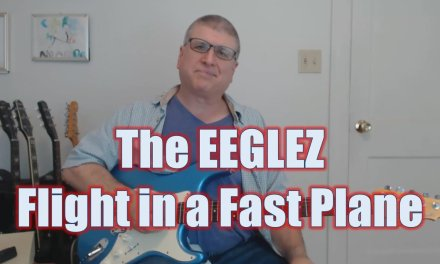 The EEGLEZ Flight In a Fast Plane (Guitar Lesson with TAB)