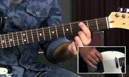 Blues Rhythm Guitar Lesson -Blues Mambo/Rumba Feel like Crosscut Saw