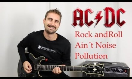AC/DC – Rock And Roll Ain't Noise Pollution – Guitar lesson – Tutorial – how to play