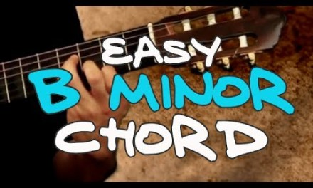 Easy B minor (Bm)  Chord – Real Beginning Guitar Lessons