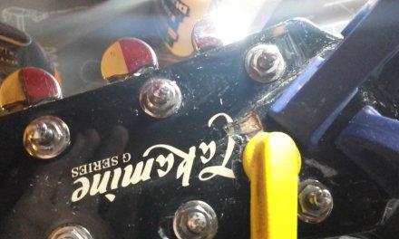 Guitar repair Part 2