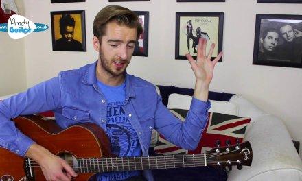 Fingerstyle Exercise #1 – Fingerpicking For Beginners