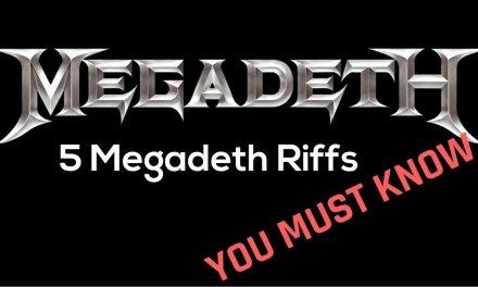 5 Essential Megadeth Riffs You Must Know – Steve Stine Guitar Lessons
