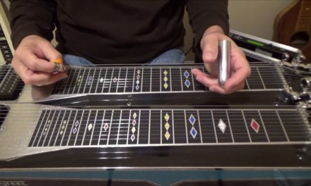 1, 2, 3, 4 Progression C6 | Pedal Steel Guitar Lesson
