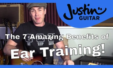 The 7 Amazing benefits of Ear Training NEW FREE COURSE Guitar Lesson Tutorial Intervals Relative