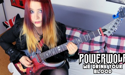 POWERWOLF – We Drink Your Blood [GUITAR COVER] | Jassy J