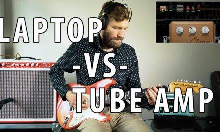 TUBE AMP vs LAPTOP | 3500$ vs 59$ | Surprising Tone Insight!!