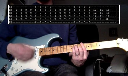 Fuzz Earthen Gate Guitar Lesson with Tabs