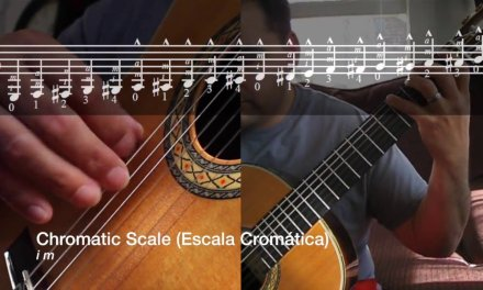 The First Lessons For Guitar, Scales, Julio S. Sagreras