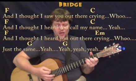 Lost Stars (Adam Levine) Guitar Cover Lesson with Chords/Lyrics – Munson
