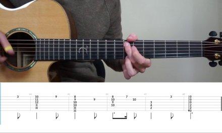 Harry Potter Theme – Fingerstyle Guitar Tutorial (lesson) Free Tabs by Mattias Krantz
