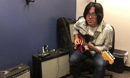 Berklee Private Guitar Lesson / Singing guitar / Tomo Fujita