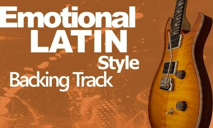 Emotional Latin Style Guitar Jam Track 94 Bpm Em
