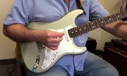Rhythm Guitar Lesson – syncopated strum exercise