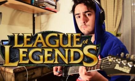 [TAB] Warriors – League of Legends 2014 World Championship [Guitar Cover] – Imagine Dragons