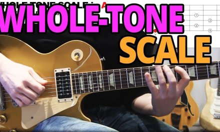Andy's Lab – Whole Tone Scale – Guitar Lesson
