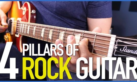 The 4 Pillars Of Rock Guitar – Your First Rock Guitar Lesson