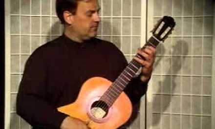 Guitar Lesson – What is Lagatto and How to Play on Classical Guitar.