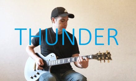 Imagine Dragons – Thunder – Electric Guitar Cover (with TABS)