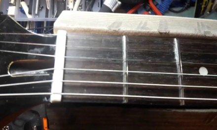 Guitar Repair and Setup – Punca gitar berbunyi seperti Sitar