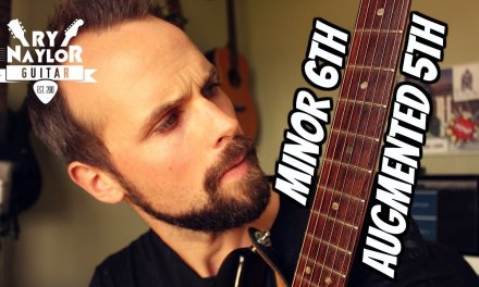 Augmented Fifth or Minor Sixth Guitar Interval Lesson