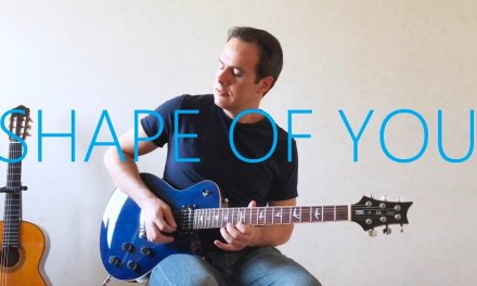 Ed Sheeran – Shape Of You – Electric Guitar Cover (with TABS)