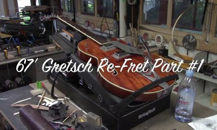67′ Gretsch Re-Fret