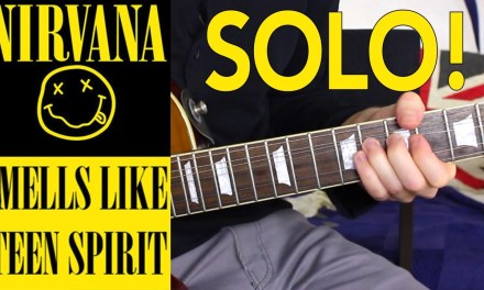 Smells Like Teen Spirit EASY LEAD GUITAR SOLO TUTORIAL – How to play