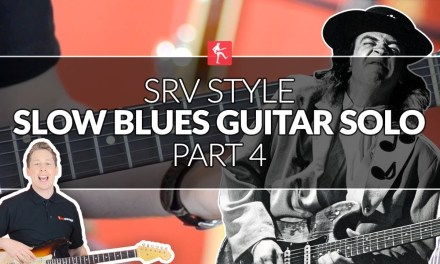 Stevie Ray Vaughan Style Blues Guitar Solo (Part 4) – SRV Guitar Lesson
