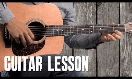 Old Grimes – Guitar Lesson – Bluegrass Flatpicking Melody and Chord Progression