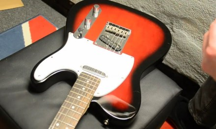 How to Replace Pickguard on Squier Fender Telecaster without removing strings