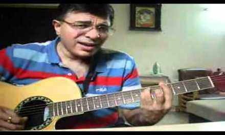 Anisuthide – Mungaru Male guitar chords Kannada song lesson by Suresh
