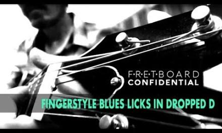 Fingerstyle Blues Licks in Dropped D