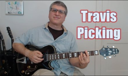 Travis Picking, an Introduction (Guitar Lesson with TAB)