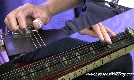 Blues Grooves – Open G – Lap Steel or Dobro