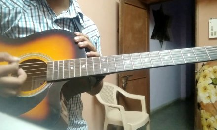 Guitar 1st lesson in HINDI